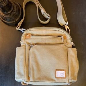 travelon. rugged chic. purse.